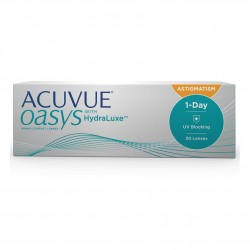 Oasys 1-Day for astigmatism...